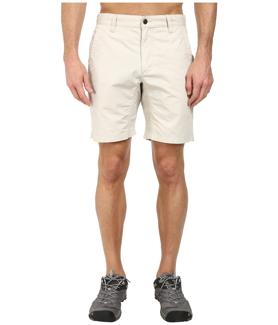 Mountain Khakis - Slim Fit Poplin Short (Oatmeal) Mens Shorts
