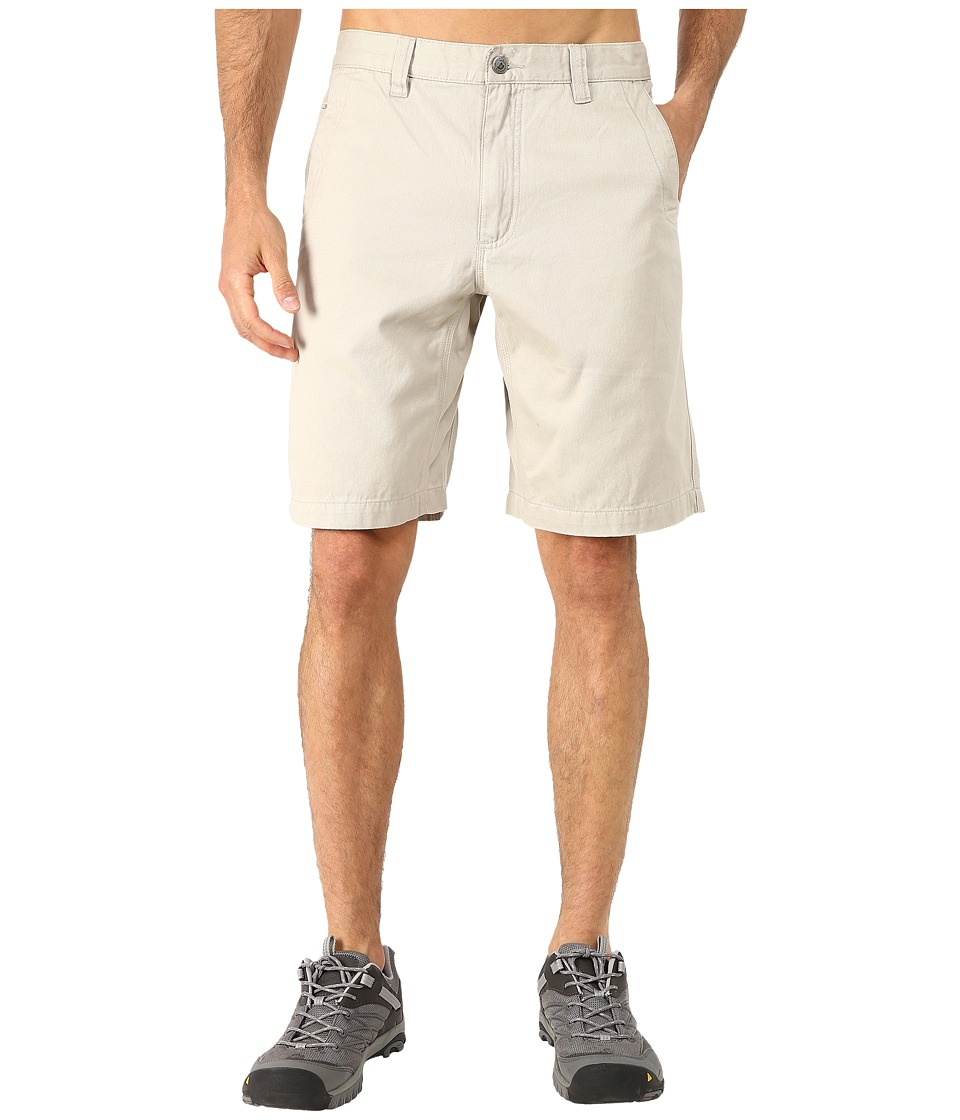 Mountain Khakis - Teton Twill Short (Stone) Mens Shorts
