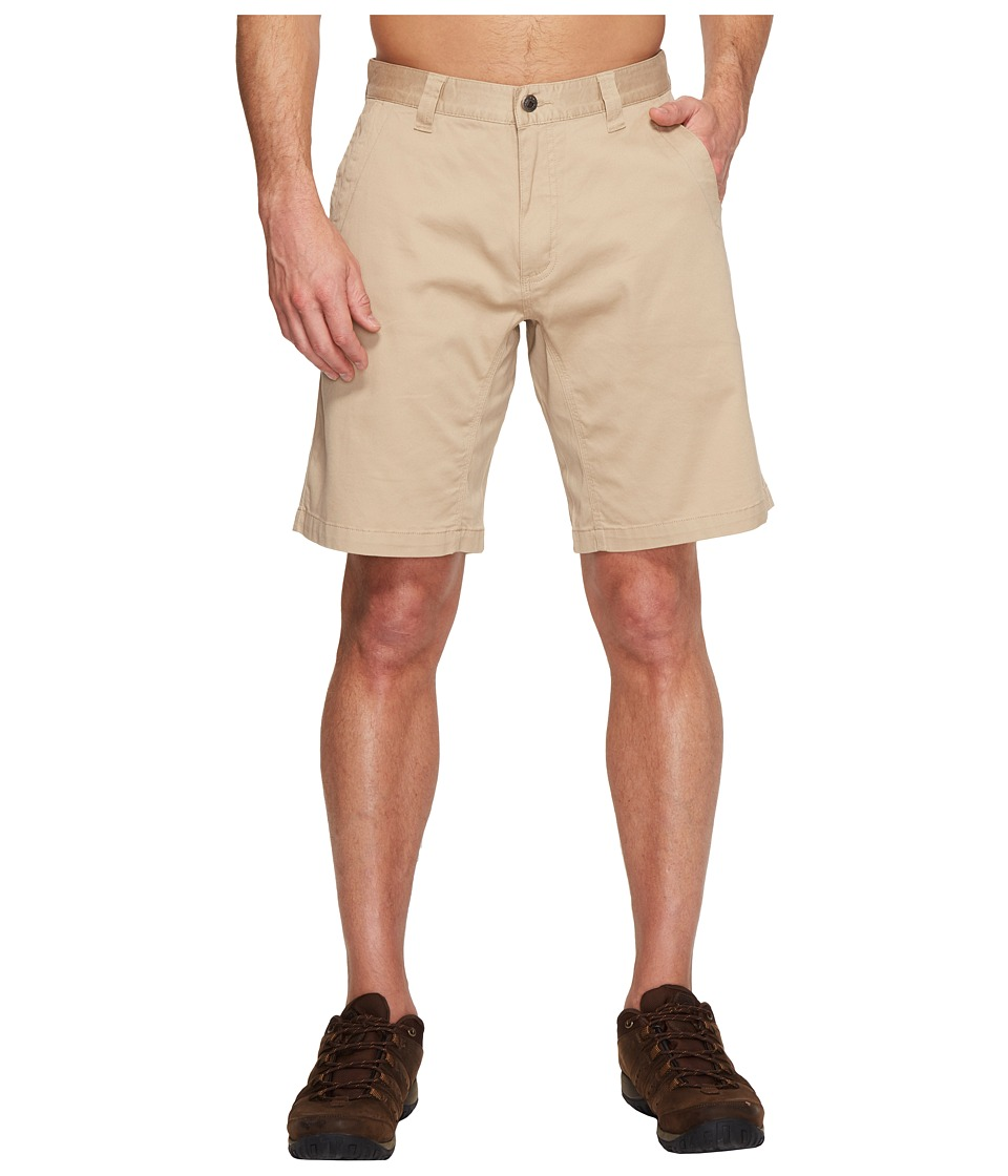 Mountain Khakis - Lake Lodge Twill Short (Light Khaki) Mens Shorts