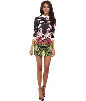 Ted Baker - Youma Mirrored Tropics Collar Dress