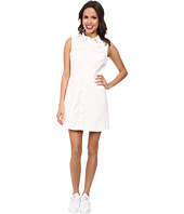 Lacoste - L!ve Sleeveless Snap Front Shirt Dress