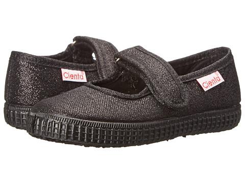 Cienta Kids Shoes 56113.01 (Infant/Toddler/Little Kid/Big Kid) - Black/Black Sole