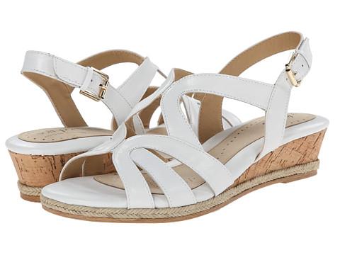 Softspots - Samoa (White Goat Cabrillo) Women's Wedge Shoes