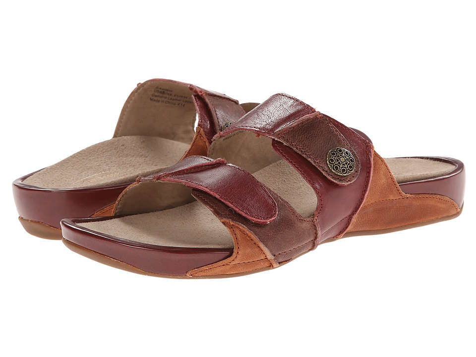 Aetrex Rebecca Adjustable Strap Autumn Womens Shoes