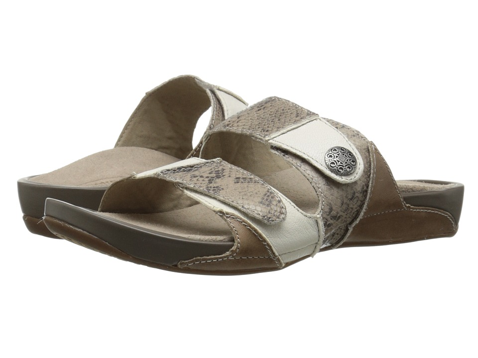 Aetrex Rebecca Adjustable Strap (Taupe) Women