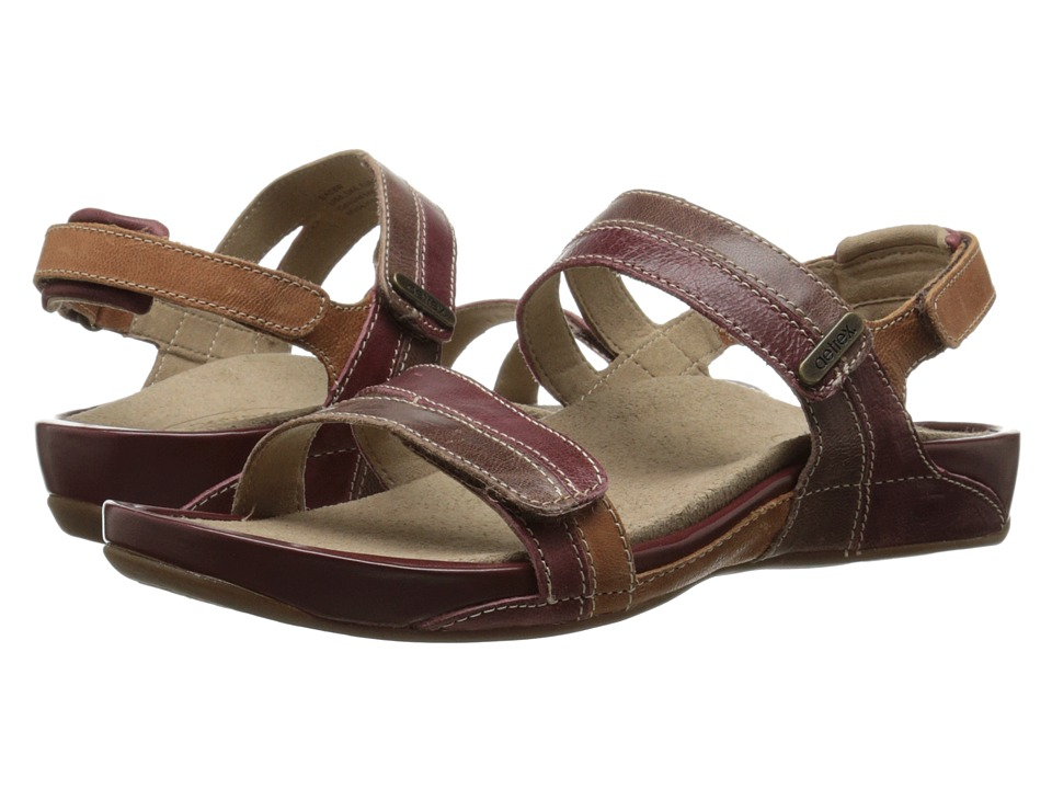 Aetrex Paraiso Sandalistas Lynco Footbed (Autumn) Sandals