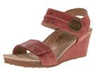 Aetrex - Arielle Wedge Sandal (Vintage Red)
