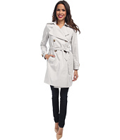 DKNY - Double-Breasted Soft Trench Coat
