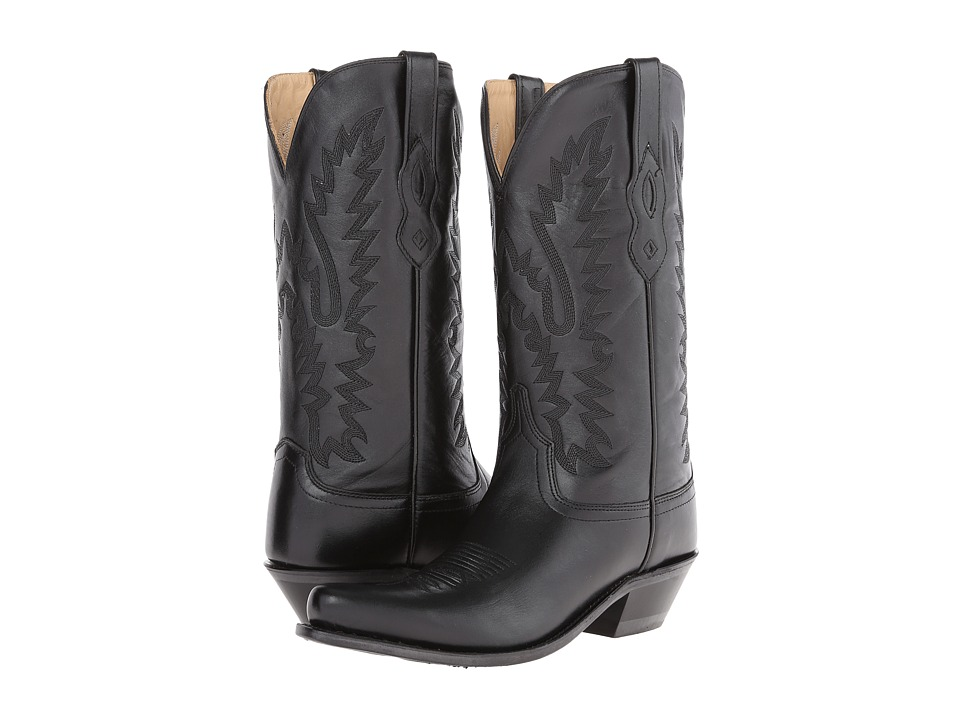 Old West Boots - LF1510 (Black) Cowboy Boots