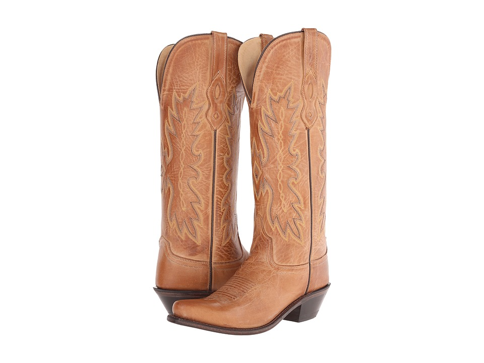 Old West Boots TS1541 Tan Canyon Cowboy Boots