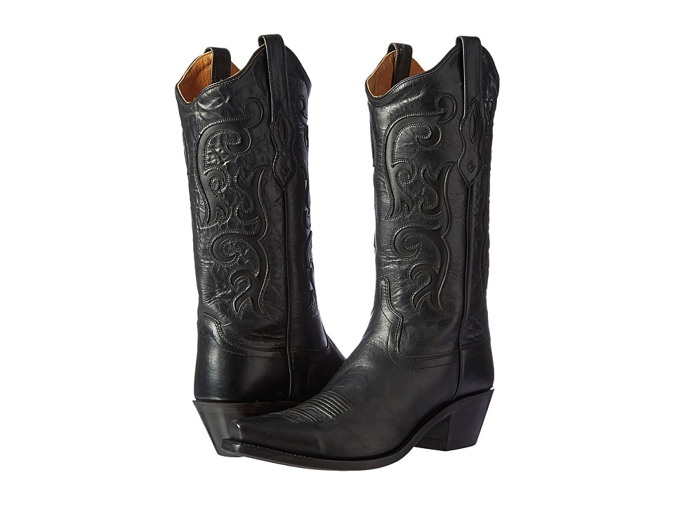 Old West Boots - LF1579 (Black) Cowboy Boots