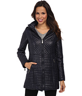 DKNY - Quilted Stand Collar Coat