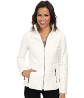 DKNY - Stand Collar Quilted Scuba Jacket