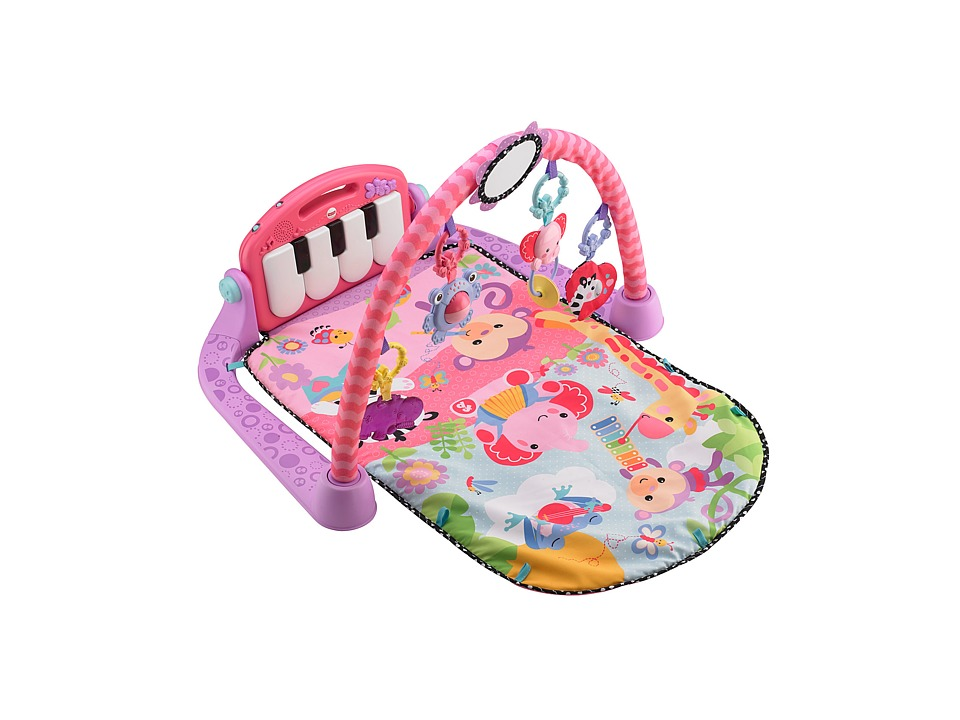 Fisher Price - Kick Play Piano Gym (Pink) Strollers Travel