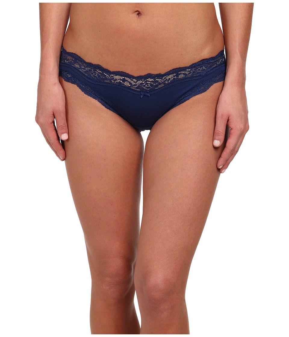 DKNY Intimates Downtown Cotton Bikini Dark Navy Womens Underwear