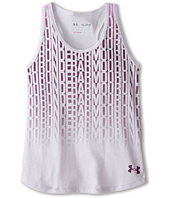 Under Armour Kids - Stacked Charged Cotton® Tri-Blend Tank Top (Big Kids)