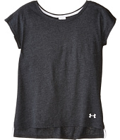 Under Armour Kids - Gen Z Charged Cotton® Tri-Blend Tee (Big Kids)