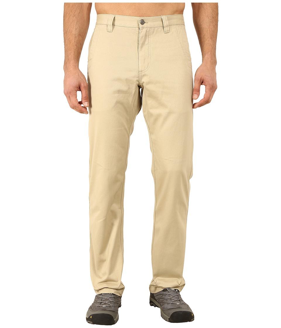 Mountain Khakis - Slim Fit Teton Twill Pant (Sand) Mens Casual Pants