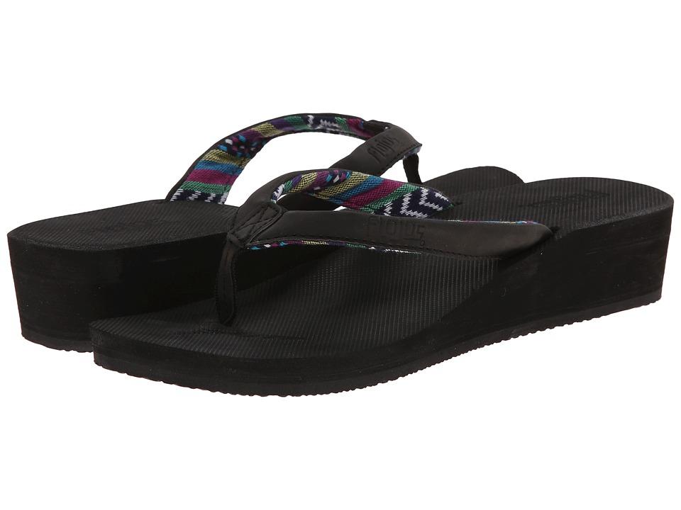 Flojos Piper Black Womens Shoes