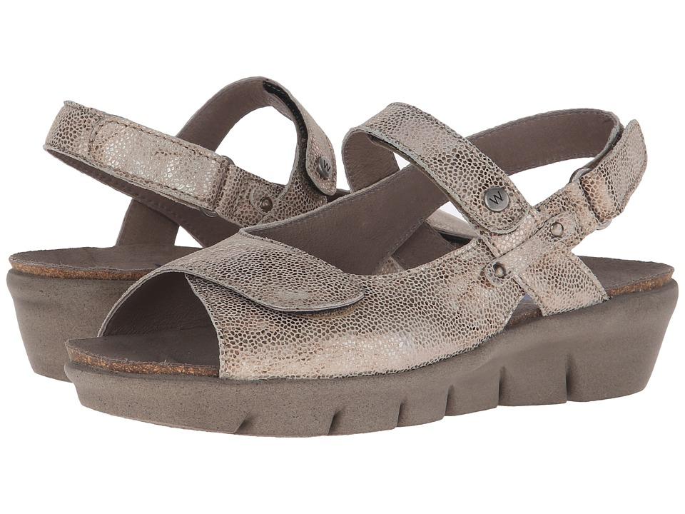 Wolky Twinkle Beige Womens Sandals