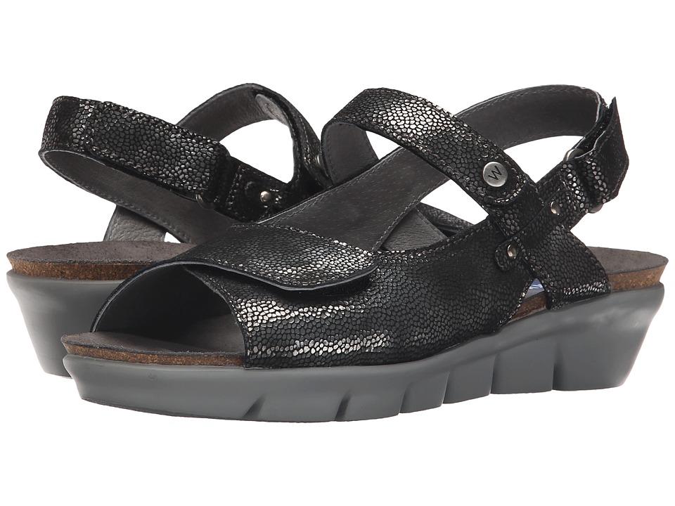 Wolky Twinkle Black Womens Sandals