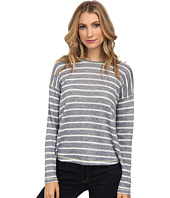 C&C California - Split Back Stripe Top