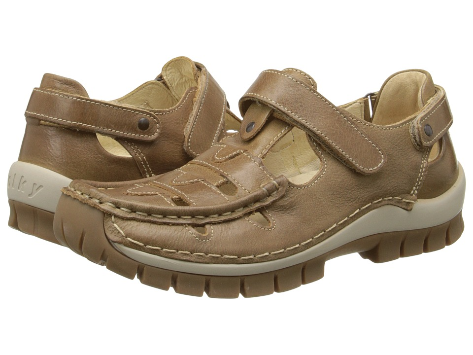 Wolky Move Taupe Womens Sandals