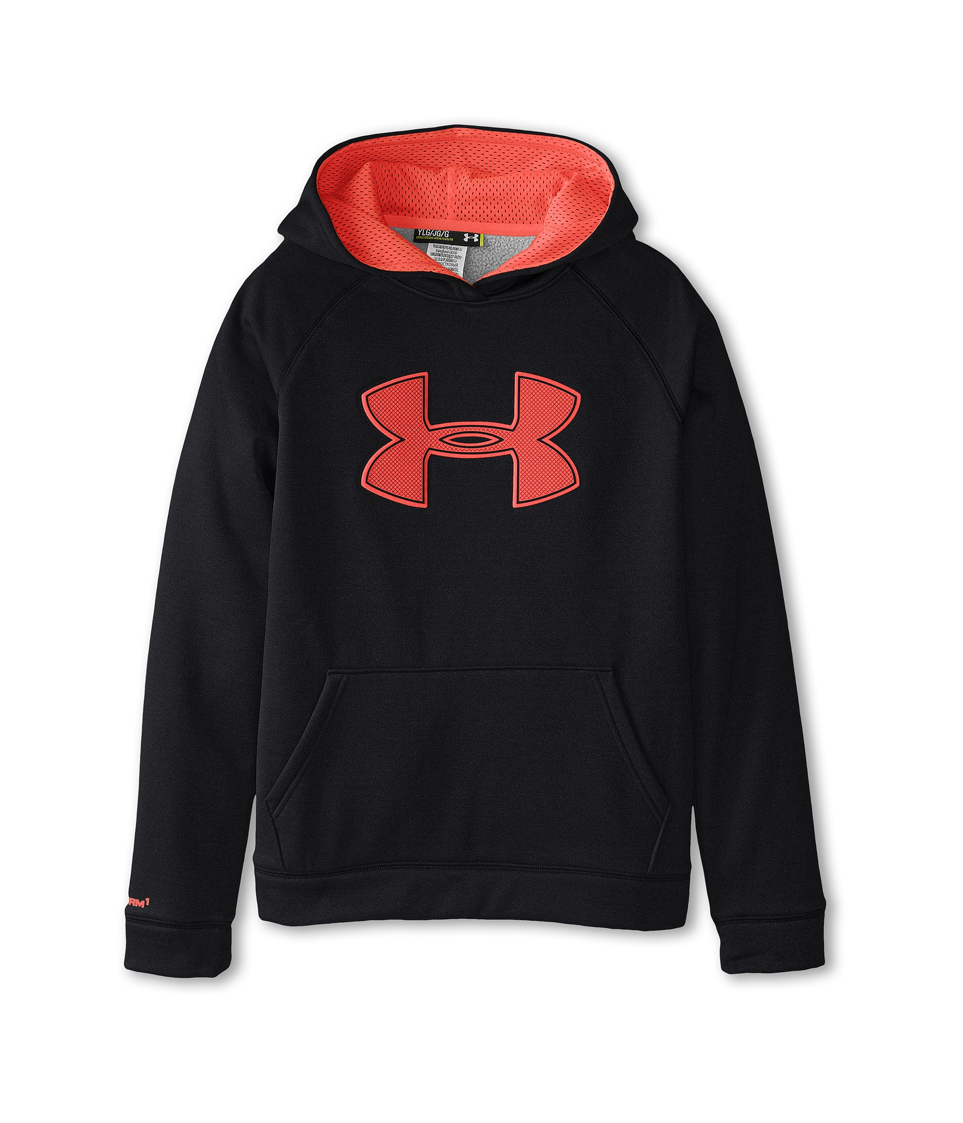 Under armour youth hoodie big logo