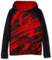 Under Armour Kids - Storm Armour® Fleece Printed Big Logo Hoodie (Big Kids)