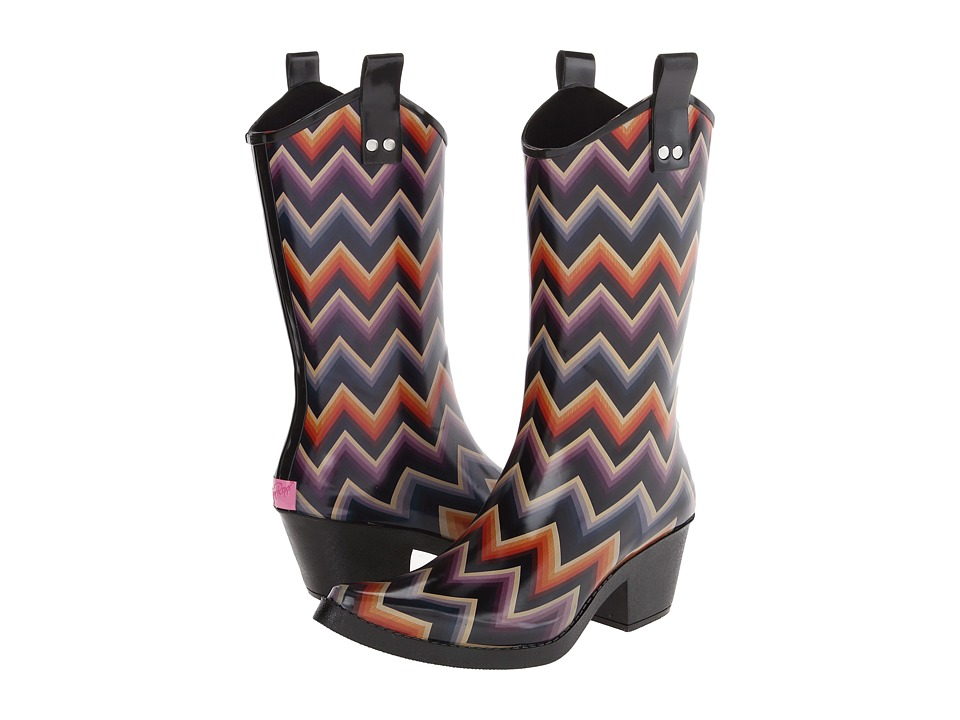 M&F Western Kale (Orange/Purple Blue Chevron) Women