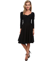Stop Staring! - Long Sleeve Shirred Dress