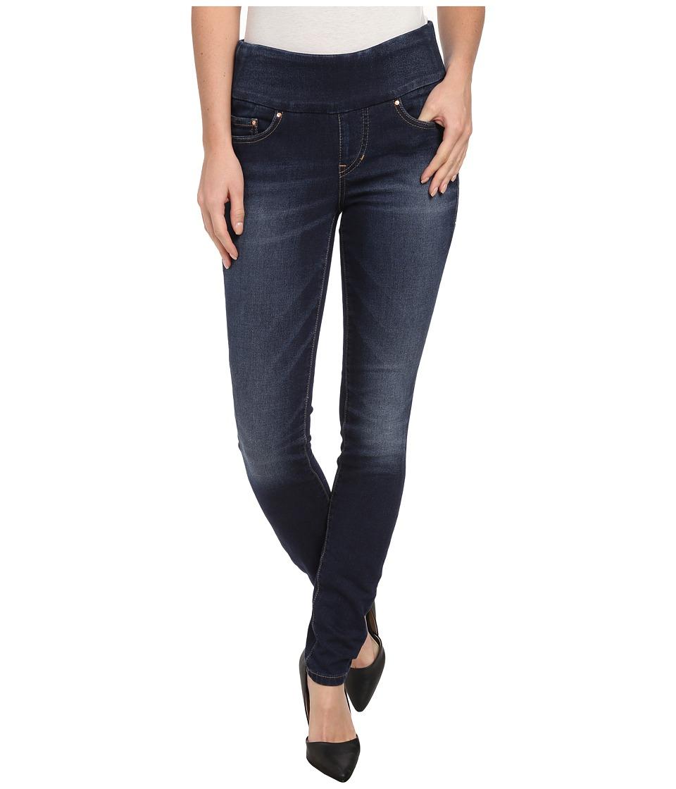 Jag Jeans Nora Pull On Skinny Knit Denim in Blue Ridge Blue Ridge Womens Jeans