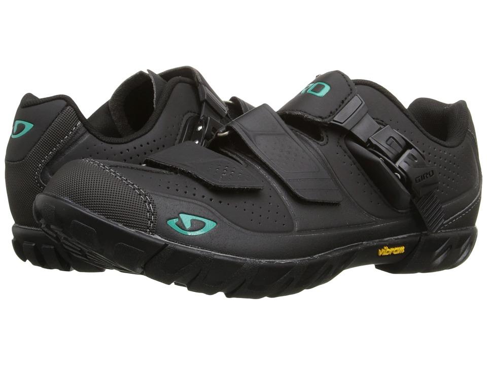 Giro Terradura Black/Dynasty Green Womens Cycling Shoes