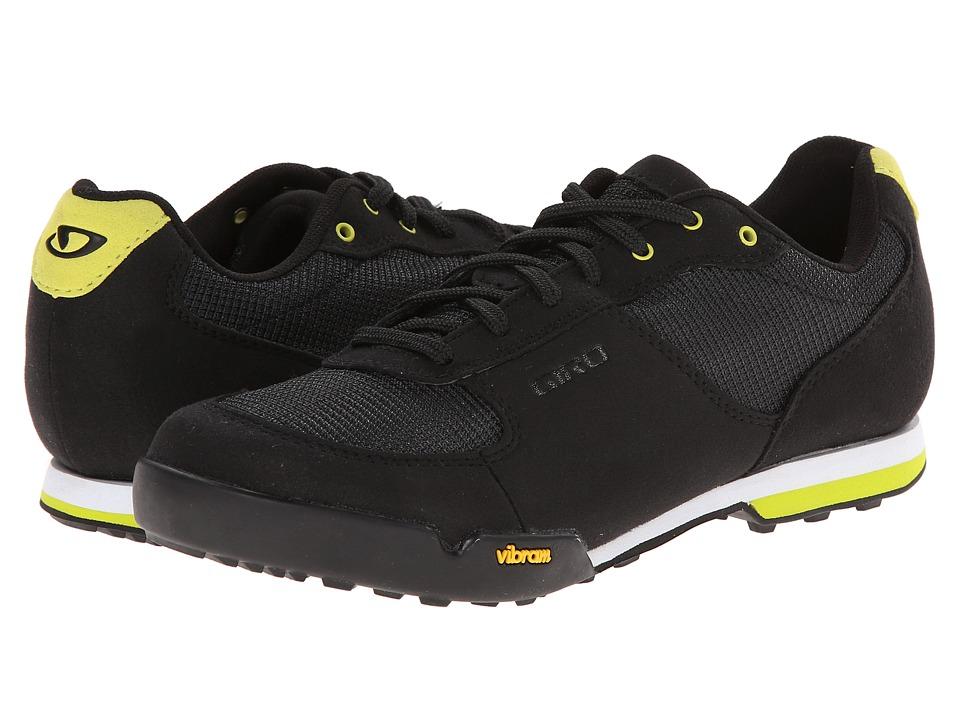 Giro Petra VR Black/Wild Lime Womens Cycling Shoes