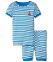 Hatley Kids - Anchor Stripe Short PJ Set (Toddler/Little Kids/Big Kids)