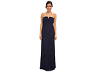 Donna Morgan Strapless Lace Long Gown (Indigo)