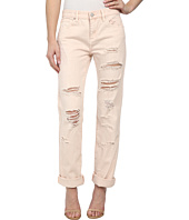 Blank NYC - Pale Pink Distressed Relaxed Rip in Ditz