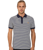 Fred Perry - Fine Stripe Pique and Jersey Shirt