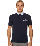 Fred Perry - Woven Trim Pique Shirt