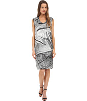 HELMUT LANG - Method Print Silk Dress