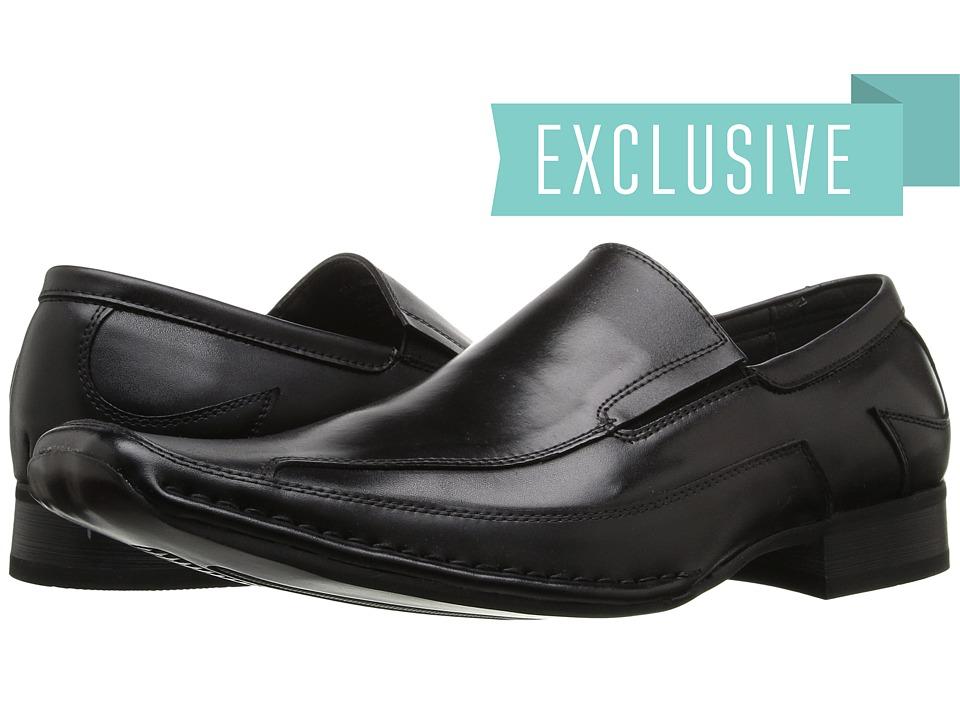 Giorgio Brutini 15904 Black Full Grain Mens Slip on Dress Shoes