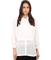 HELMUT LANG - Lawn Cotton Layered Cotton Shirt