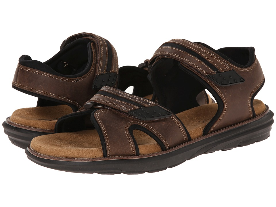 Dr. Scholls Kai Brown Derby Mens Sandals