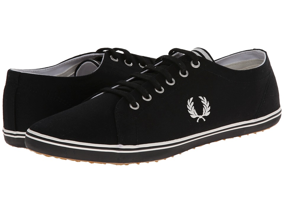 Fred Perry - Kingston Twill (Black/Porcelain 1) Men