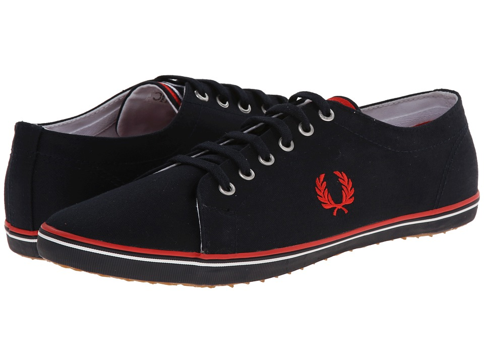 Fred Perry - Kingston Twill (Navy/England Red/White 1) Men
