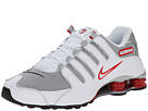 Nike Shox NZ (White/Sport Red/Cool Grey/Metallic Silver)