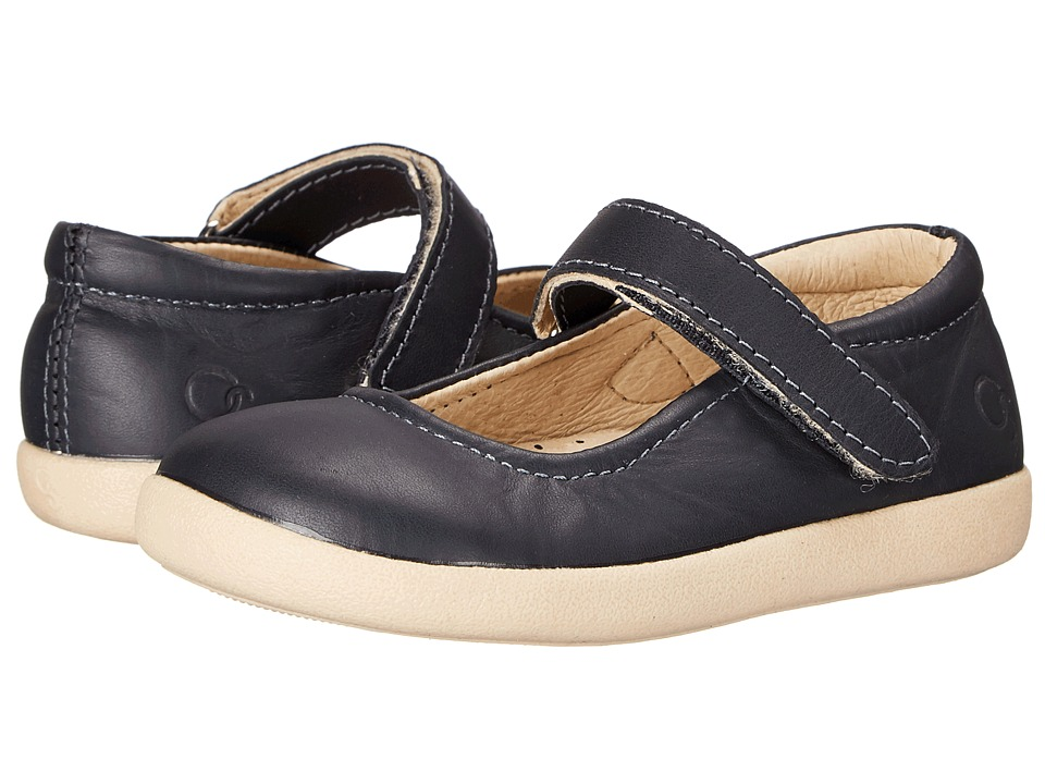 Old Soles Miss Jane Toddler/Little Kid Navy Girls Shoes