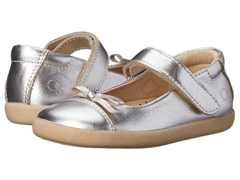 Old Soles Sista Flat (Toddler/Little Kid) - Silver