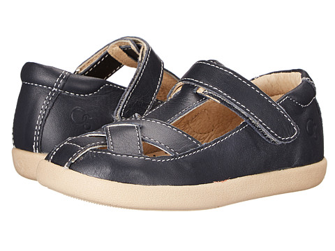 Old Soles Crossed (Toddler/Little Kid) - Navy