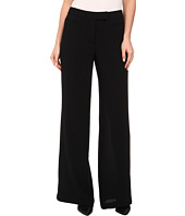 Adrianna Papell - Wide Leg Gauzy Crepe Pant